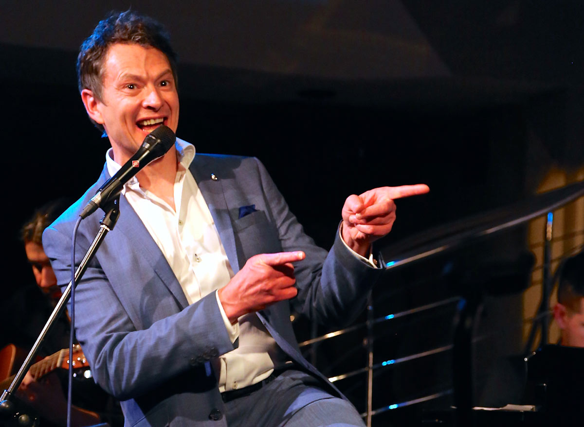 Mark On Stage